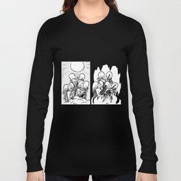 Heaven and Hell Long Sleeve T-shirt