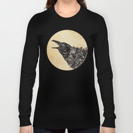 CROW-ded Long Sleeve T-shirt