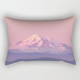 Mt Baker Rectangular Pillow