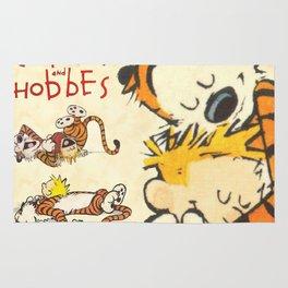 Calvin and Hobbes Rug