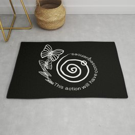 This Action Will Have Consequences Rug
