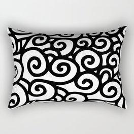 In Motion Rectangular Pillow