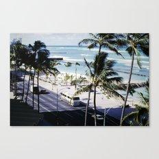 Mom & Dad's Hawaii Trip Slide No.2 Canvas Print