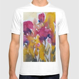 Abstract flowers (2) T-shirt