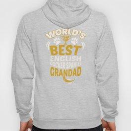 World's Best English Cocker Spaniel Grandad Hoody