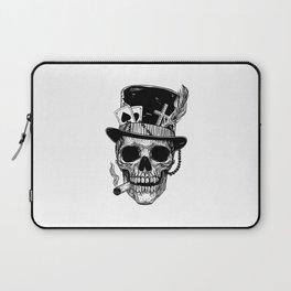 Baron Samedi Skull Laptop Sleeve