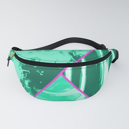 Mixed Marble Stone - Visual Decorative Graphic Design V.1 Fanny Pack