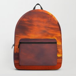 Burning Sunset Backpack