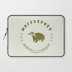 Hufflepuff House Laptop Sleeve