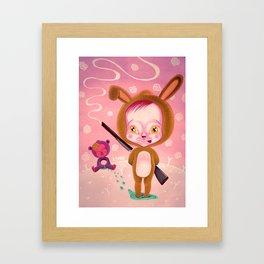 MACABRE GAMES Framed Art Print
