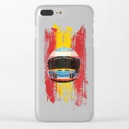 Fernando Alonso #14 - 2017 Clear iPhone Case