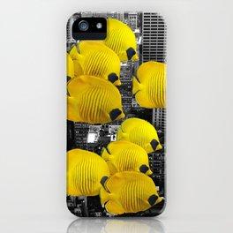 Urban Animals Tangs iPhone Case