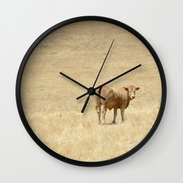 Cow No. 001 Wall Clock