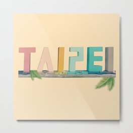 Taipei Metal Print