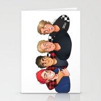 boys Stationery Cards featuring Boys by gabitozati