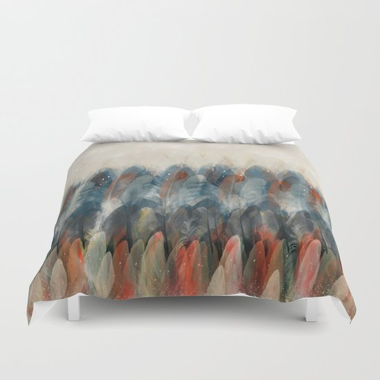 summer never ends Duvet Cover