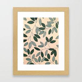 Blue Sage Framed Art Print