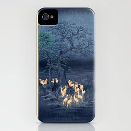 Foxfires at the Changing Tree iPhone Case