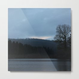Morning Over The Invisible Lake Metal Print