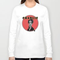 charlie Long Sleeve T-shirts featuring Charlie by Todd A. Winter