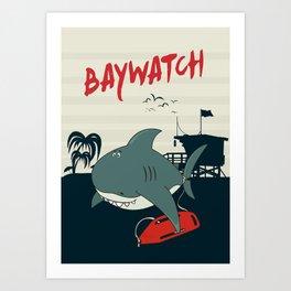 Baywatch  Art Print