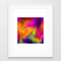 passion Framed Art Prints featuring passion by Sylvia Cook Photography