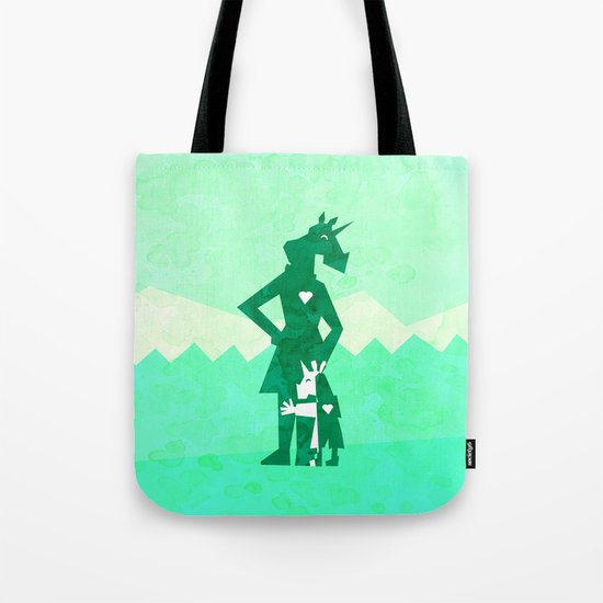 Happy Mother's Day Unicorn Tote Bag
