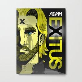 Adam Exitus Metal Print