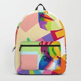 Kim Jong Hyun In Pop Art Backpack