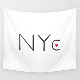 Heart NYC Wall Tapestry