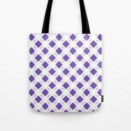Retro-Delight - Diamond Division - Purple (Invert) Tote Bag
