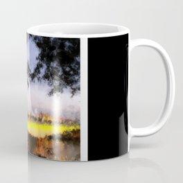 Beautiful Brisbane City - Victoria Bridge Digital Painting Coffee Mug