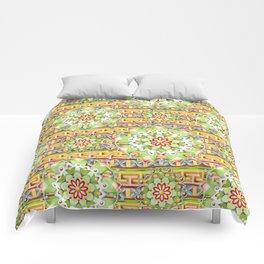 Fiesta Rainbow Mandala Comforters