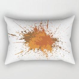 Splatter #12 Rectangular Pillow