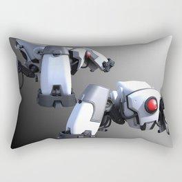 Small Sentry Robot Rectangular Pillow