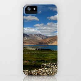 Lakeside Pangong iPhone Case