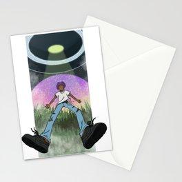 Floating eternal Stationery Cards