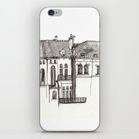 brussels iPhone & iPod Skins featuring Brussels by MadmFia