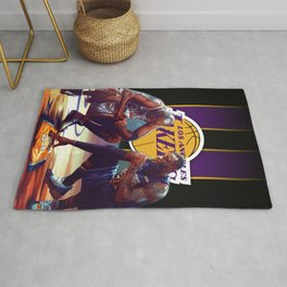 K.B King of Basketball Rug