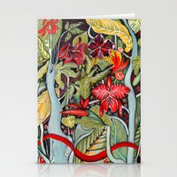 paradise Stationery Cards featuring Paradise  by Felicia Atanasiu