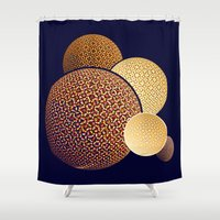 planets Shower Curtains featuring - planets - by Digital Fresto