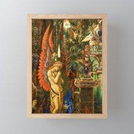 Portrait of the Goddess Saturn by Gustave Moreau Framed Mini Art Print