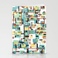 mod Stationery Cards featuring Mod by Tina Carroll