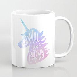 Normal Is Boring (Pastel) Coffee Mug
