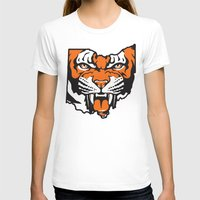 ohio state T-shirts featuring Ohio Bengal by Griggitees