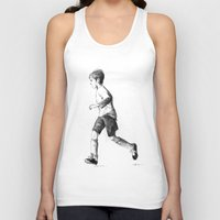 soccer Tank Tops featuring Soccer sketch by Pato