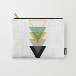 FIVE GEOMETRIC ABSTRACT HOLLOW PYRAMIDS TRIANGLE Carry-All Pouch