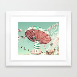 Fun Has Just Begun Framed Art Print