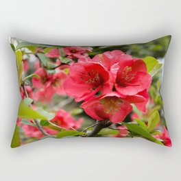 JAPANESE QUINCE Rectangular Pillow