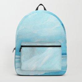 Resurgence - Stormy Ocean Seascape Backpack